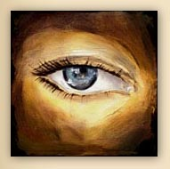 eye, artist website, cool art, eye painting, Hiroko Sakai