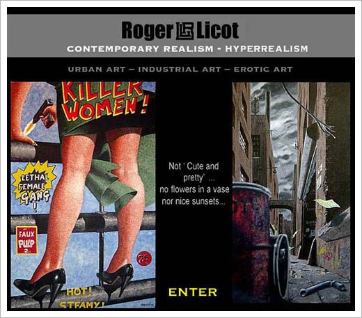 roger licot website