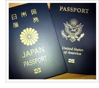 二重国籍、パスポート