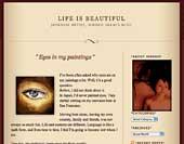 Hiroko Sakai Blog, Life is Beautiful